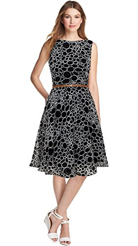 Varibha Women's Dress (Aaiotu00116D01-Slf_Black_X-Large)