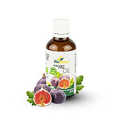 Certified Organic Cold Pressed Fig Oil 50ml Biopurus from Germany