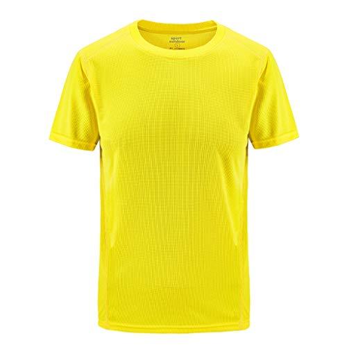 Luckycat Oversize Herren T Shirt Crew Neck Rundhals Basic Shirt Herren Kurzarm Rundhals Basic Slim Fit T-Shirt in vielen Farben Herren Tanktop Tank Top Unterhemden Ärmellos Weste Muskelshirt ()