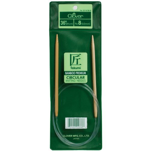 Brand New Takumi Bamboo Circular Knitting Needles 36-Size 4/3.5mm Brand New by M1N4B5