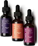 Eve Hansen Anti-Aging Serum Set vitamine C sérum acide hyaluronique sérum rétinol sérique 3 bouteilles!