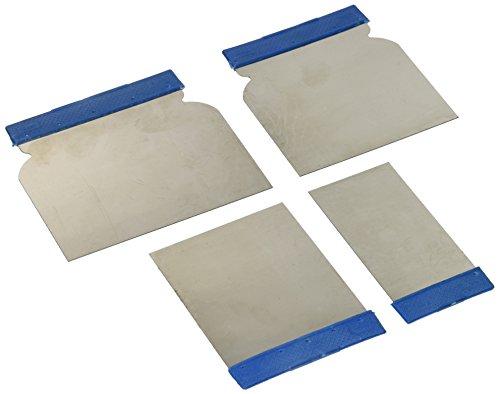 Preisvergleich Produktbild Silverline 427734 Edelstahl-Federspachtel, 4-tlg. Satz 50, 80, 100 u. 120 mm