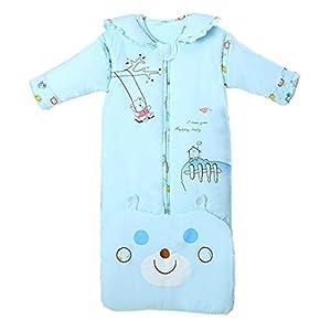 Emmala Saco De Dormir De Invierno Casual Chic para Bebé 3.5 TOG Saco De Dormir para Niños Pequeños Cálido Y Suave Manta…