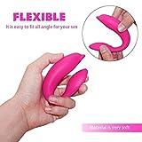 Vibrator, drahtlose Fernbedienung G-Punkt mit 10 Frequenz Tragbares Clitorisanreger 2 Motoren Silikon Stab Massager Spielzeug der weiblichen Geschlechtes