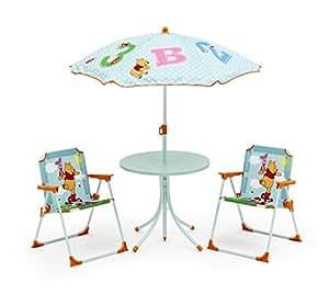Disney winnie the pooh set tavolo sedie e ombrellone da - Cucina winnie the pooh ...