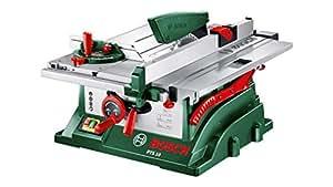 Bosch PTS 10 Banco Sega, 1400 Watt, Profondità di Taglio a 90° 75 mm