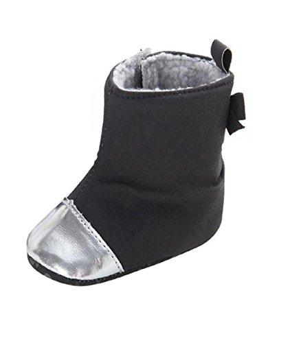 Yogogo - Bottes de neige - bébé Fille - prewalker souple Sole - Crib Shoes