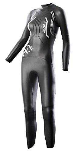 2016 2XU Ladies A:1 ACTIVE Triathlon WETSUIT Black/White Detail WW2357c Sizes- - Large