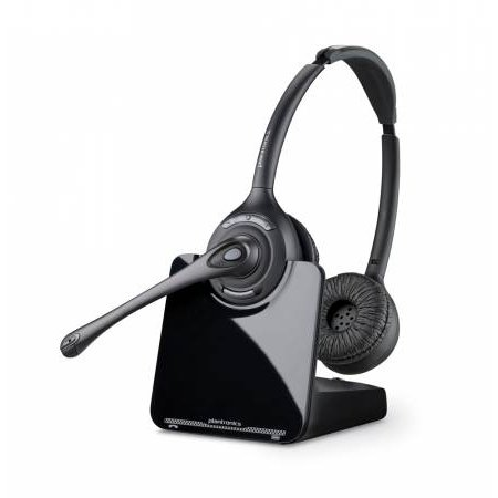 Avaya 1600 Serie (Plantronics CS520 Headset mit Adapter für AVAYA Telefone; Wideband-Klangtechnologie; Kopfbügel-Modell)