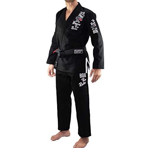 Bõa Herren Roll Rules BJJ Gi Kimono, schwarz, A4 (Bjj Gi A4)