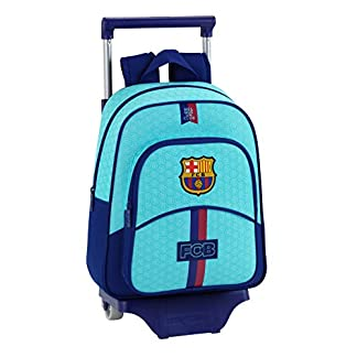 Safta Mochila con Ruedas pequeña FC Barcelona