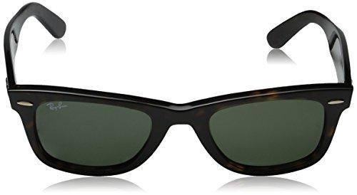 Ray-Ban Unisex RB2140 Original Wayfarer Non-Polarized Sunglasses 54mm, Beige (886/51), One size