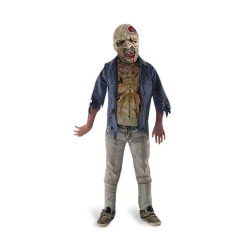 Walking Dead - Zombie Kinderkostüm - M (Dead Cheerleader Kostüm Kind)