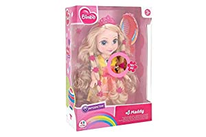 GLOBO- B/O Princess Dollcm 36 W/Light/Sound Try Me (39076), (1)