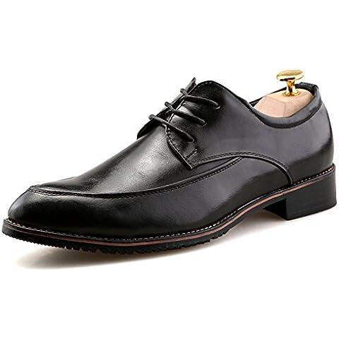 scarpe/ uomo d'affari casual/Scarpe uomo/Pizzo abito giovane marea scarpe a