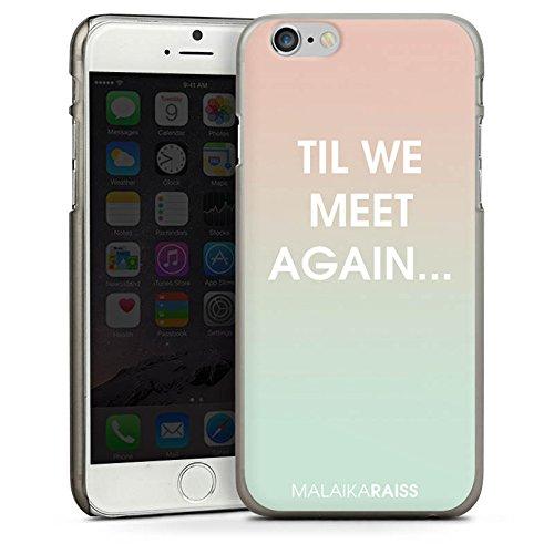 Apple iPhone 4 Housse Étui Silicone Coque Protection Phrases Dégradé de couleur MALAIKARAISS CasDur anthracite clair