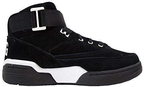 Ewing Athletics Ewing 33 Mid Black White Basketball Schuhe Shoes Mens Black White