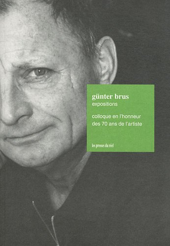 Günter Brus Expositions : Colloque en l'honneur...