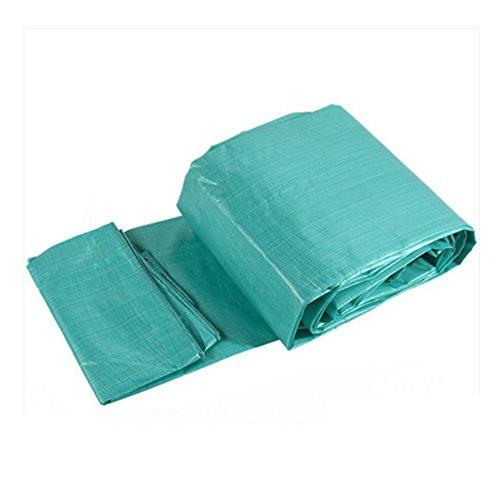 AINIYF Grüne Plane PE-Kunststoff-Carport-Sonnenschutz hitzebeständiger, wasserfester Korrosionsschutz schützt Holzfäller-Proof (größe : 4 * 6m)