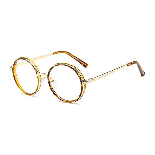 Haodasi Retro Brille keine Kraft um full-Frame-Brille-männlich und weiblich universal