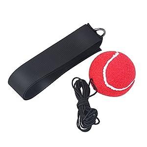 Focket Kampf Boxing Reflex Ball, Boxing Reflex Ball mit Kopfband für das Traning Verbessert die Genauigkeit der Hand…