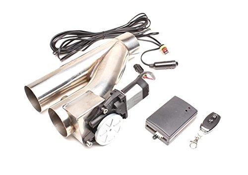 "Preisvergleich Produktbild 3"" / 76mm Auspuffklappe V2A Klappensystem Klappenauspuff Auspuff Cut Out System Klappe 76,1mm"