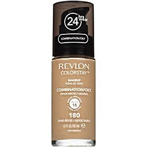 Revlon ColorStay Makeup Foundation for Combination/Oily Skin - 30 ml, Sand Beige