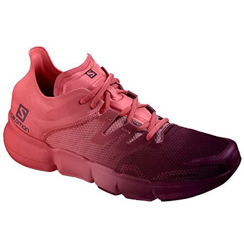 SALOMON Predict RA W - Zapatillas de Mujer Talla EU 38 2/3, Potent Purple/Garnet Rosa/Deep Claret - Violeta, 38 2/3