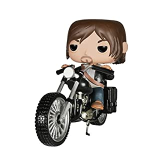 Funko Pop Daryl Dixon en moto chopper (The Walking Dead 08) Funko Pop The Walking Dead