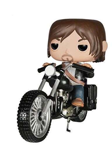 Funko pop Walking Dead - Daryl Dixon con Chopper Extra Grande