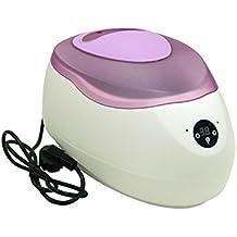 Bañera de Parafina Digital de 2.5 litros con tapa morada para cara mano y pies todo