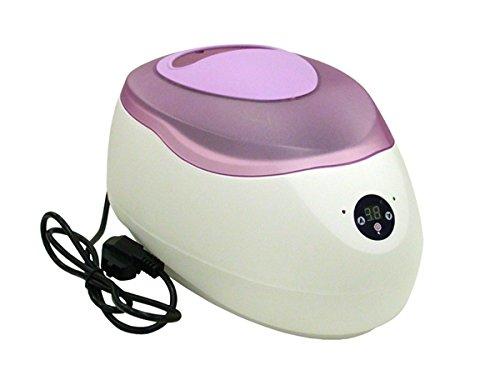 Digitale Paraffinbad 2,5-Liter-Hand mit lila Kappe Gesicht und Füße den ganzen Körper