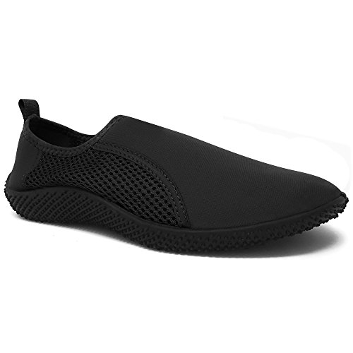 55 Sport Men's Waterline Aqua Shoes - Black - 40