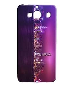 100 Degree Celsius Back Cover for Xiaomi Redmi 2 (City View Multicolor)