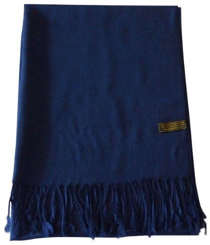 azul-marino-diseno-solido-color-chal-pashmina-abrigo-de-la-bufanda-de-la-estola-cj-apparel-nuevo