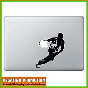 """""""basket-ball """" Macbook air Vinyle Décalque Autocollant Sticker pour Apple MacBook Pro/Air 11"""" 13"""" 15"""" MAC APPLE"""