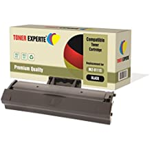 TONER EXPERTE® Compatible MLT-D111S Cartucho de Tóner Láser para Samsung Xpress SL-M2020, M2020W, M2021, M2021W, M2022, M2022W, M2026, M2026W, M2070, M2070W, M2070FW, M2070F, M2071, M2071W, M2071FH