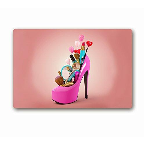 ailovyo Sexy High Heel Schuhe Prinzessin Girly Dinge Gummi Rutschfest Eintrag Way Fußmatte Outdoor Innen Decor Teppich Fußmatten, 60x 15.28-inch