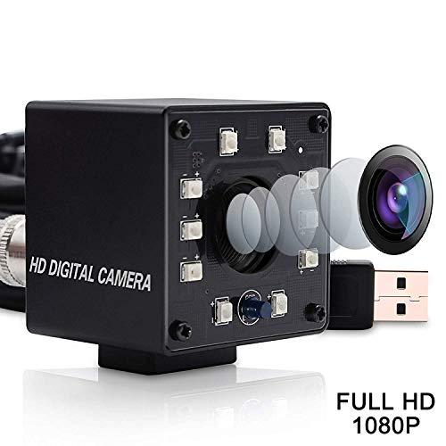Svpro 1080P OV2710 Web Cam HD CCTV Telecamera di sorveglianza Mini infrarossi Night Vision USB Webcam HD 1080P con IR Cut e 10pcs LED Board