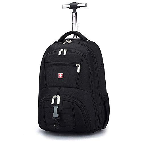 Wheeled Carry-on Gepäck (GNB Rolling Rucksack, Rollsack Rolling Carry-On Reise-Duffel-Tasche, Carry On Gepäck-Koffer, Roller-Rucksack Für Laptop bis 18 Zoll)
