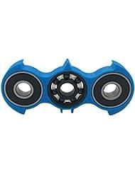Anself Murciélago dedo Spinner Fidget juguete Spin Cornerstone Focus EDC Pocket DeskToy regalo para niños adultos