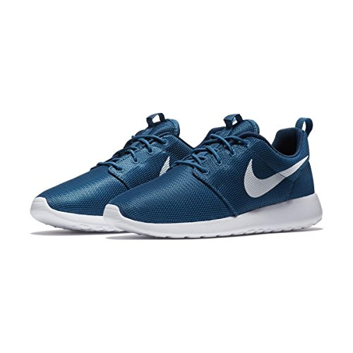 Nike Roshe One, Chaussures de Course Homme Bleu