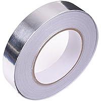 WINGONEER Cinta adhesiva de sellado profesional para cinta de papel de aluminio Longitud 30m / 32yd Ancho 20mm / 0.02yd Grosor 0.06 mm