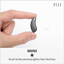 FIIL Amplifier prothèse auditive Petit auditive aide Audition d'amplification du son de la prothse auditive d'aide filtre sonore Amplificateur sonore Batterie Mini