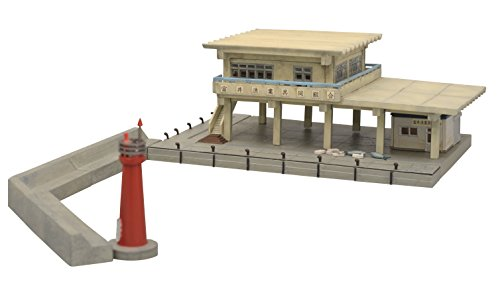 TomyTEC 229186 - Port de pêche modèle ferroviaire Accessoires