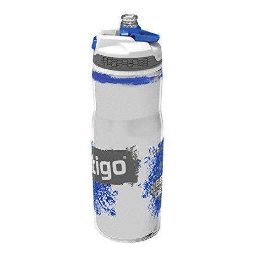 Contigo devon insulated, bottiglia per idratazione adulto, blu, 22 oz (650 ml)