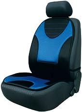 Walser 14231 Sitzauflage, Sitzaufleger Grafis, Schwarz/Blau