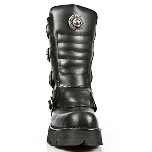 New Rock Metallic Schwarz Stiefel M.1471-R3 BLACK, BLACK