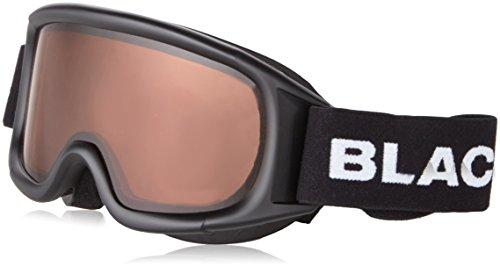 Black Hendedura Gafas de esquí para Mujer, Invierno, Mujer, Color Neg