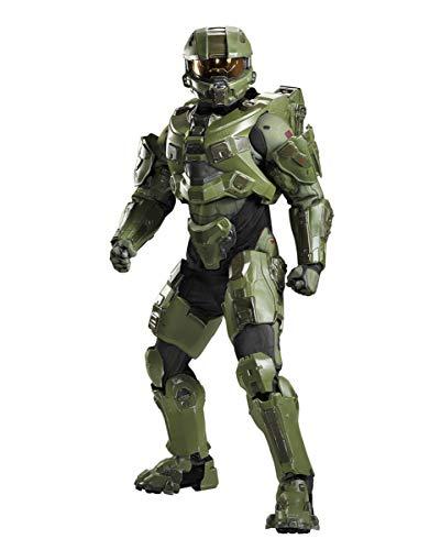 Horror-Shop Halo Master Chief Deluxe Kostüm für Erwachsene für Cosplay und Rollenspiele - Chief Kostüm